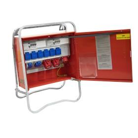 Planschrank Grau/Grau 6 Schubladen